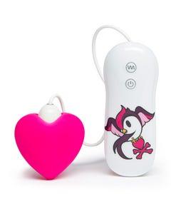 Auflegevibrator mit Comic-Motiv - Heart