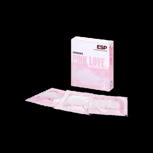 ESP 'Pink Love', 52 mm, 3 Stück