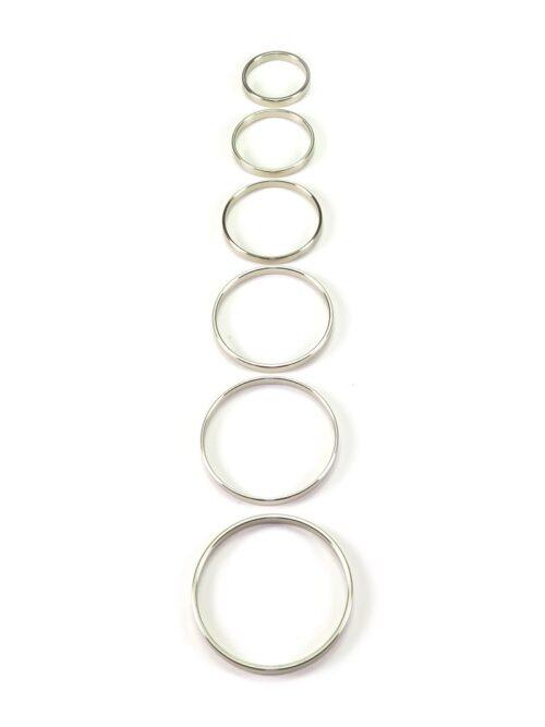 Edelstahl-Penisring, 5mm breit (35mm)