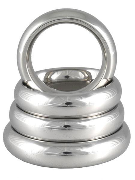Edelstahl-Penisring: Donut, 15mm breit (40mm)