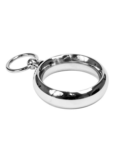 Edelstahl-Penisring mit O-Ring (40mm)
