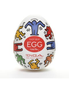 Keith Haring - 6 Stk. - Egg Dance