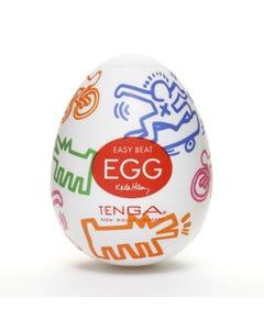Keith Haring - Egg Street