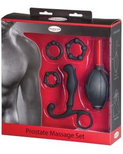 Prostata Massage-Set - Schwarz