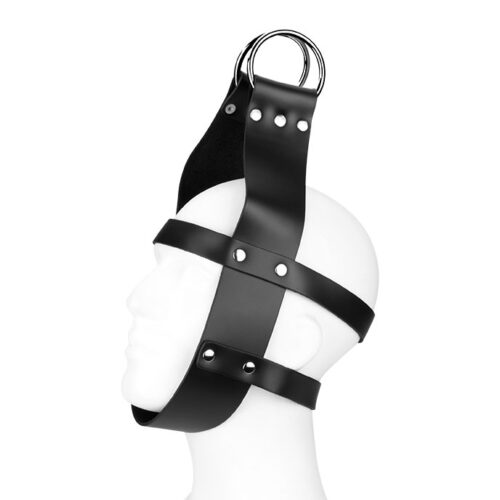 Rimba Aufhänge-Maske aus Leder