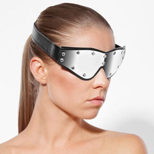 Rimba Augenmaske mit Metallelement