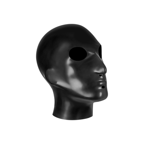 Rimba Kopfmaske aus Latex
