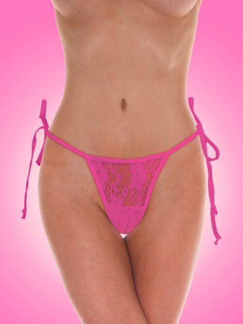 Screaming O Panty Vibe: Vibro-Slip mit Fernbedienung, pink