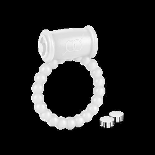 Silikon-Vibroring inkl. Batterien, 2 - 5 cm - Penisring