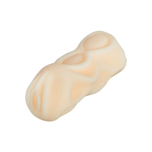 Strukturierter Vagina-Masturbator, 13 cm
