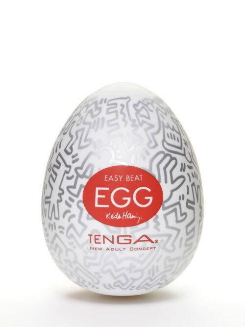 Tenga Keith Haring Party Egg: Masturbator
