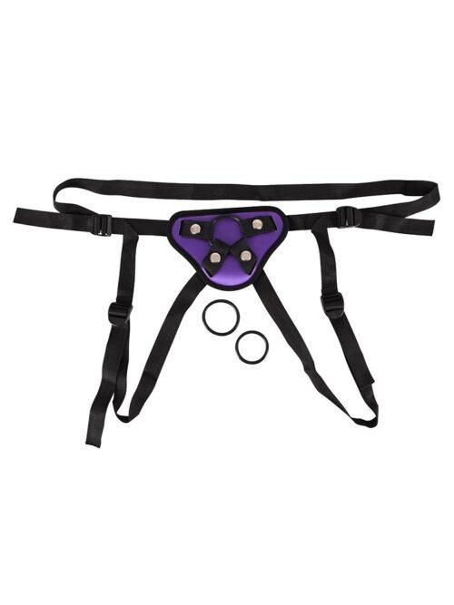 Universal-Harness, schwarz/lila