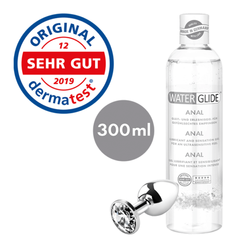 Waterglide 300 ml 'Anal', extra ultra langanhaltend