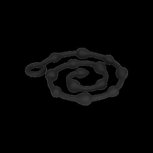 XXL-Analkette aus Silikon, 107 cm