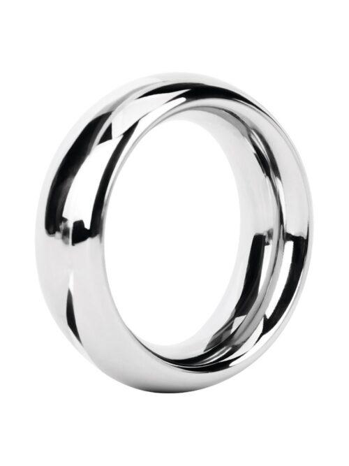 Malesation Metal Ring Rounded Steel: Edelstahl-Penisring (44mm)
