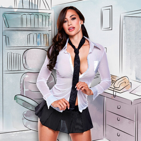 Baci Lingerie Sekretärin-Kostüm, 3 Teile