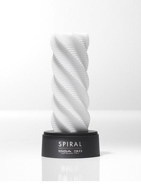 Tenga 3D Spiral: Masturbator, weiß