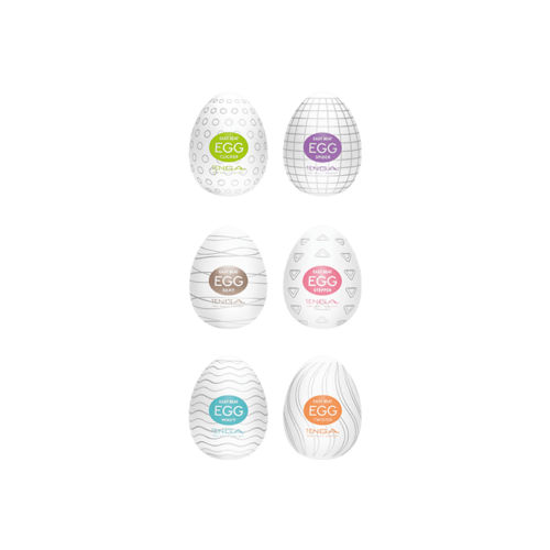 Tenga 'Egg Variety Pack 2', 6 Stück, 6 cm