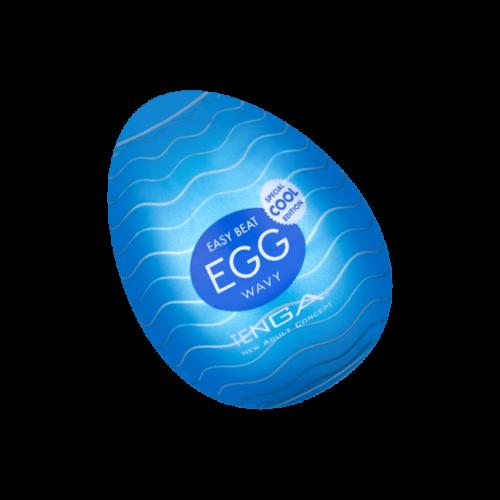 Tenga 'Egg Wavy - Cool Edition', 6 cm