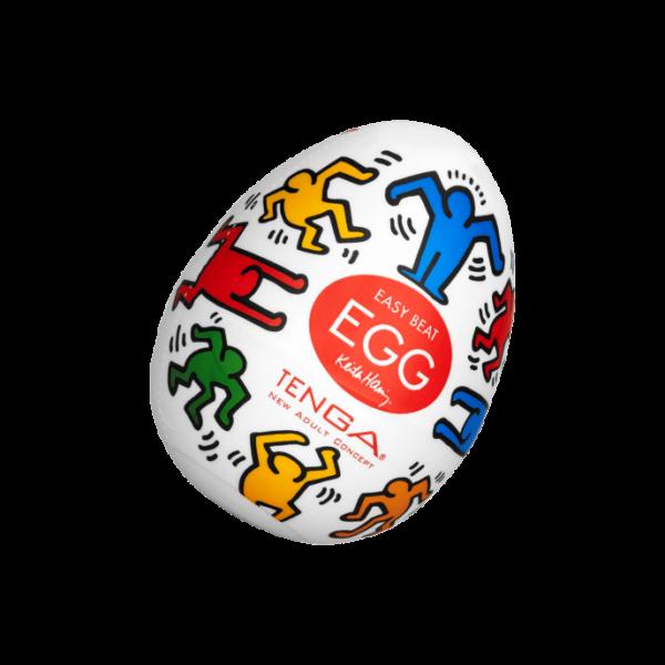 Tenga 'Keith Haring Egg Dance', 6 cm