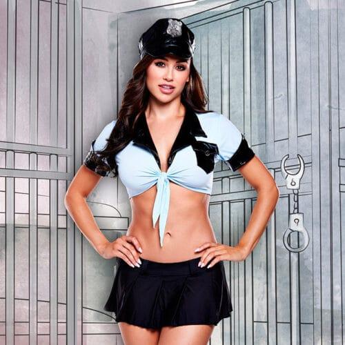 Baci Lingerie Bezaubernde Polizistin - Kostüm', 4 Teile