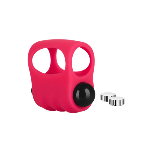 Fingervibrator mit Bullet, Silikon, 4,5 cm