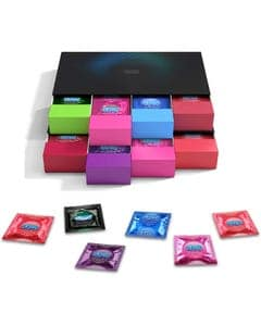 Kondom Geschenkset in stylischen Boxen-70 Stück