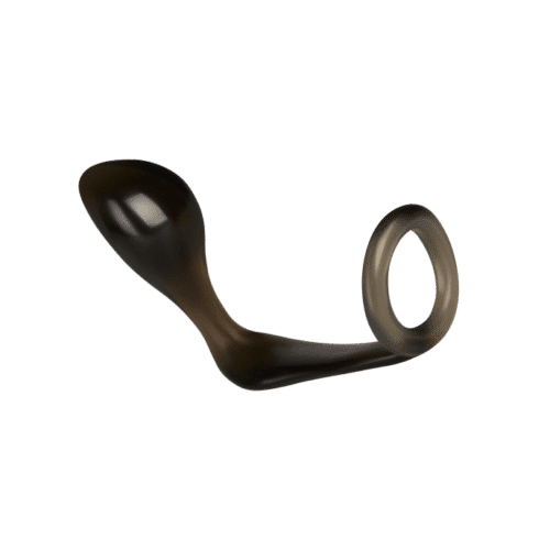 Addicted Toys 'Butt Plug with Cock Ring', 10 cm