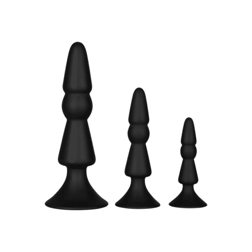 Dream Toys 'Anal Cone Set', 7,5 - 14 cm, 3 Teile