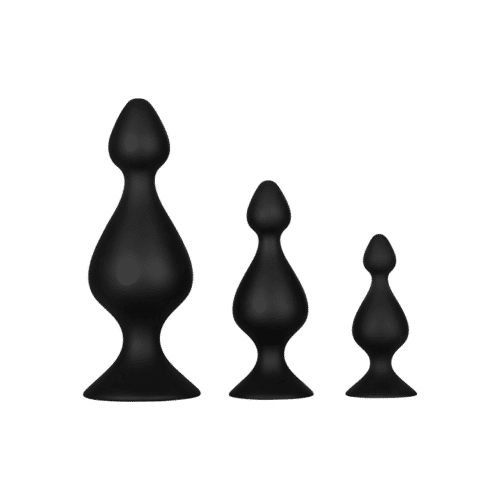 Dream Toys 'Anal Pawn Set', 7,5 - 14 cm, 3 Teile