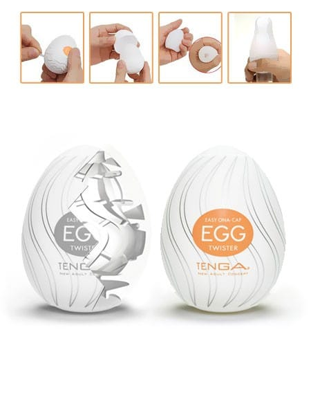 Tenga Ona Egg Twister: Masturbator
